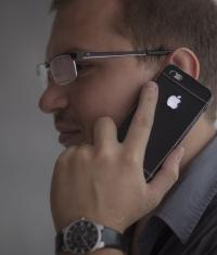 Как вторая кожа или чехол со светящемся логотипом для iPhone 5/5S/5C