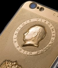 Caviar не будет создавать золотые iPhone 6 с портретом Путина
