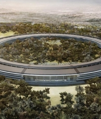 Apple строит Campus 2. Видео со стройплощадки!