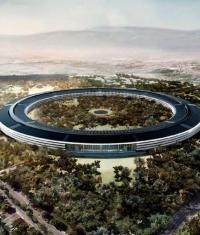 Журналистам разрешили сделать фотографии нового Apple Campus 2