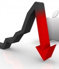 Акции компании Apple снизились на 8% после обнародования доходов