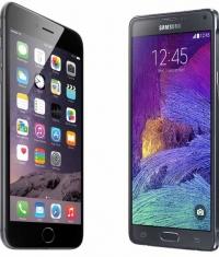 До конца года продажи iPhone 6 будут превосходить показатели Galaxy Note 4 в 10 раз