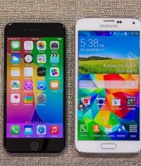 Apple смогла догнать Samsung по количественным продажам смартфонов