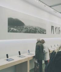 Apple Store теперь стали музеями современного искусства (Фото)