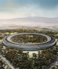 Новое видео со стройки Apple Campus 2