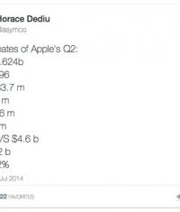 Apple продала около 34 млн. iPhone и 16 млн. iPad за 2 квартал 2014 года