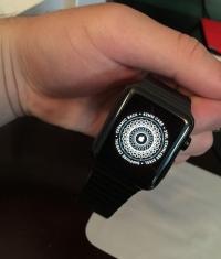 Первые снимки Apple Watch в расцветке «черный космос»