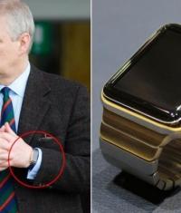 Apple Watch Edition за 17 тысяч долларов замечены на руке принца Британии