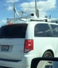 На дорогах США снова заметили «Секретный» автомобиль Apple (Видео)
