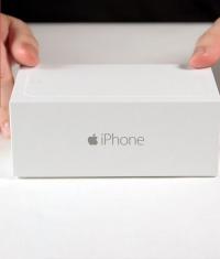 Первое видео с распаковкой iPhone 6