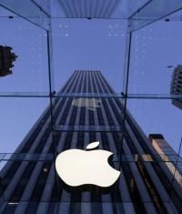 Акции Apple достигли отметки 122 долларов