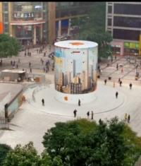 Apple создала очередной промо-ролик для нового Apple Store в Китае