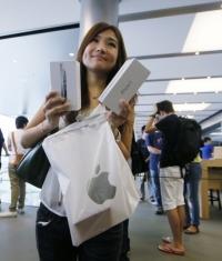 Apple захватывает китайский мобильный рынок - уже на 5-м месте