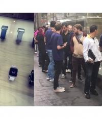 Открытие предзаказа на Apple Watch: австралийцы выстроились в очередь (Фото)