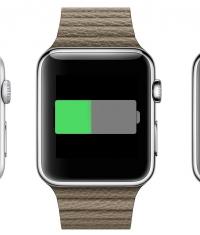 Известно время автономной работы Apple Watch