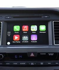 Возможности CarPlay на примере Hyundai Sonata 2015