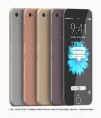 Зарубежный художник-дизайнер представил концепт iPhone 7 (Видео)