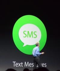 OS X Yosemite может принимать звонки и читать и отправлять SMS при подключенном iPhone