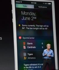 Новая система виджетов в iOS 8