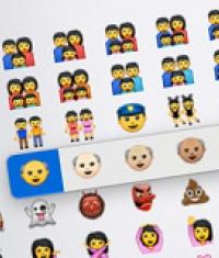 В iOS 8.3 beta 2 появилось около 300 новых политкорректных смайликов