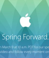 Apple разослала приглашения на пресс-конференцию 9 марта
