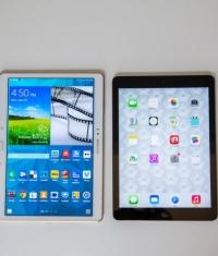 Дисплей Galaxy Tab S превосходит Retina-дисплей iPad Air