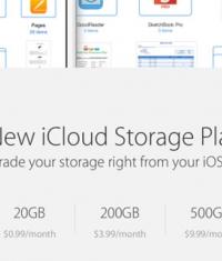 Apple обновили стоимость облачного «места» в iCloud