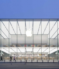Опубликовали фотографии нового китайского Apple Store