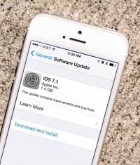 iOS 7.1 финальная версия - ссылки на скачивание и список изменений