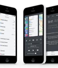 Концепт iOS 8: Control Center и режим многозадачности в одном флаконе