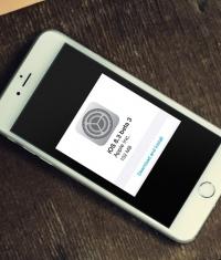 Вышла iOS 8.3 beta 3