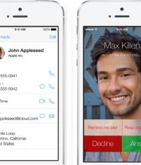 В iOS 8 вернут фото абонента во время звонка во весь экран!