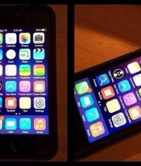 Новые инсайдерские скриншоты iOS 8 с iPhone 6