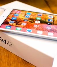 Лучшим планшетом стал iPad Air (на выставке MWC)