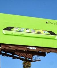 Apple начала в ЕС наружную рекламную кампанию по продвижению iPhone 5C