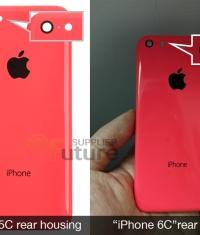 Показали первые фотографии iPhone 6c