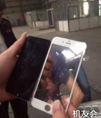 Китайцы выложили фотографию передней рамки iPhone 6