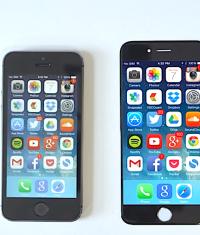 iPhone 6 с 5.5-дюймовым экраном выйдет позже чем 4.7-дюймовая версия