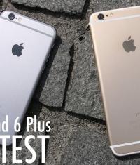 Краш тест iPhone 6/iPhone 6 Plus