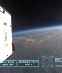 iPhone 6 побывал в космосе (Видео)