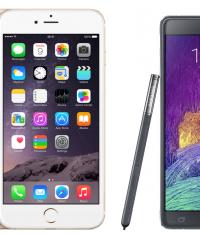 PhoneArena: iPhone 6 Plus работает на 2 часа меньше от аккумулятора, чем Galaxy Note 4