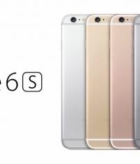 Началось производство iPhone 6s и 6s Plus