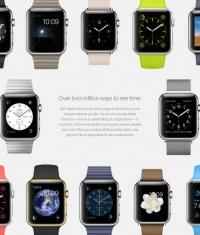 Стандартные циферблаты Apple Watch + видео