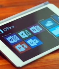 Создан новый Microsoft Office для iPad - презентация сегодня