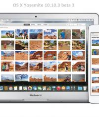 Вышла OS X Yosemite 10.10.3 beta 3