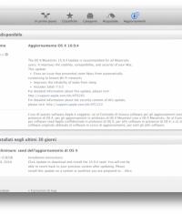 Опубликована четвертую бета-версию OS X Mavericks 10.9.4 под номером 13E25