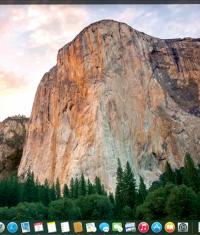 Как запустить «темный» режим в интерфейсе OS X Yosemite?
