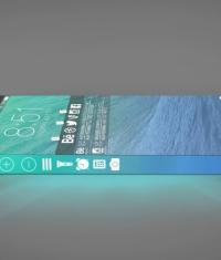 Боковые грани iPhone 6 превратятся в интерактивный дисплей с виртуальными кнопками