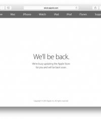 Закрылся Apple Online Store в преддверии сегодняшней презентации