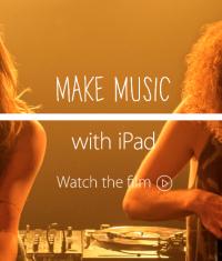 Apple сняла новую рекламу, посвященную iPad и музыкантам (Видео)